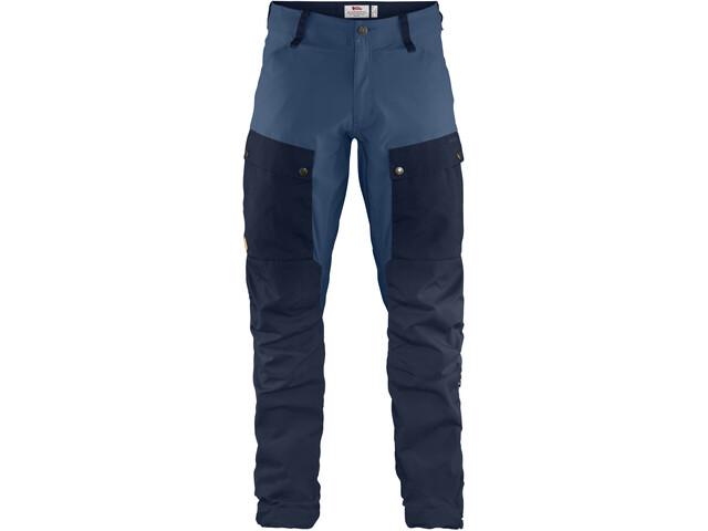 Fjällräven Keb Pantalones Hombre, dark navy-uncle blue